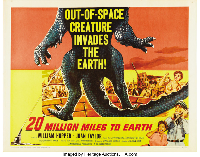 20 million miles to earth poster