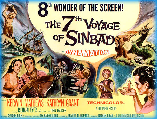 7th voyage of sinbad blu ray