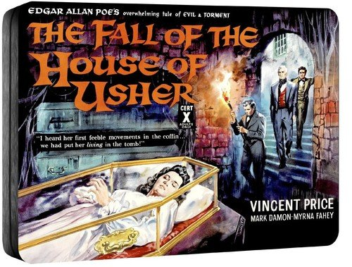 fall of the house of usher blu ray tin
