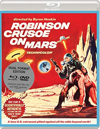 Robinson Crusoe on Mars blu ray review