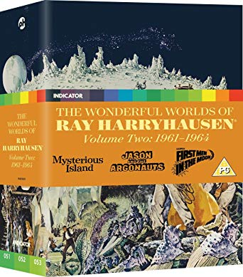 The Wonderful Worlds Of Ray Harryhausen, Volume 2: 1961-1964 blu ray review