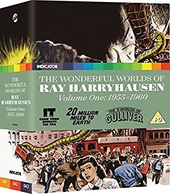 The Wonderful Worlds Of Ray Harryhausen, Volume One: 1955-1960 review
