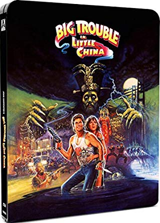 big trouble in little china steelbook blu ray