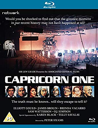 capricorn one blu ray review