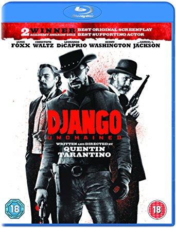 django unchained blu ray
