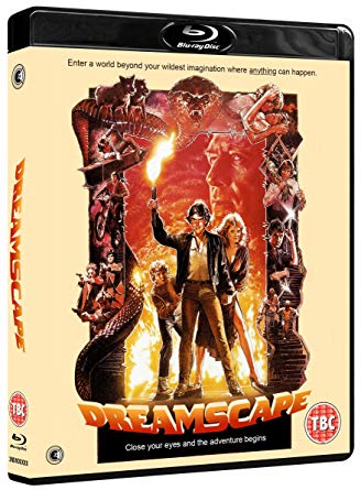 dreamscape blu ray review