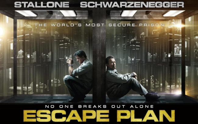 escape plan poster