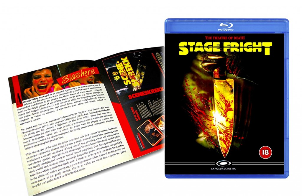Stage Fright Blu Ray review