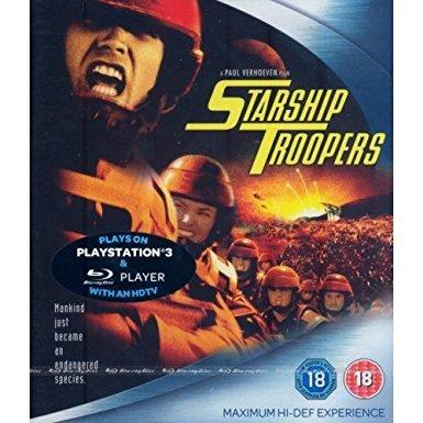 starship troopers blu ray