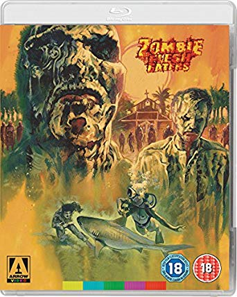 zombie fleah eaters blu ray
