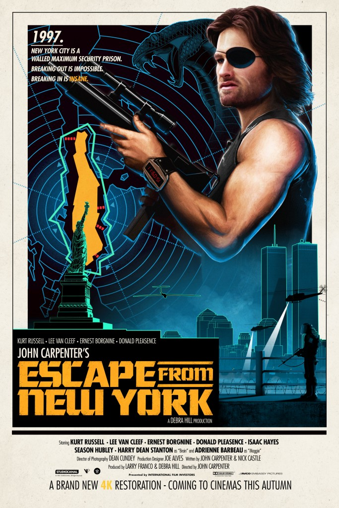 escape from new york blu ray